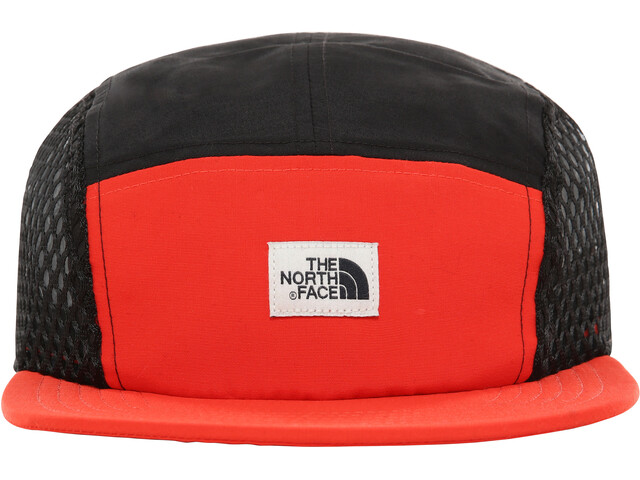 niska cena najtańszy szczegółowe zdjęcia The North Face Class V TNF Five Panel Hat fiery red/tnf black